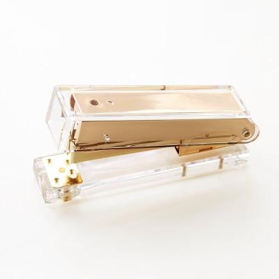 Luxury Rose Gold Gold Manual Stapler