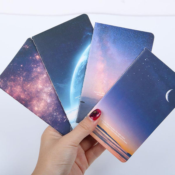 Novelty Moon Star Universe Notebook