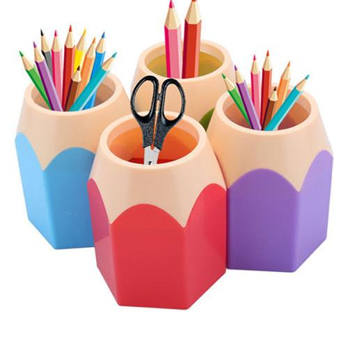 Shaped Make Up Brush Pen Holder
