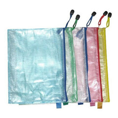 Handle Information Pouch Filing Products Bag