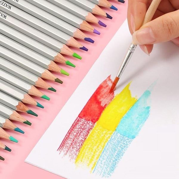 Professional Watercolor Wooden Pencil