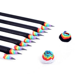Cute Rainbow Wooden  Pencils