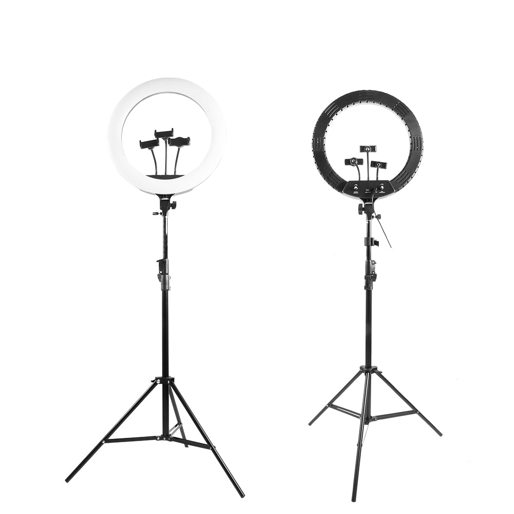 Selfie Ring Light with Tripod Stand and Phone Holder, 14Inch