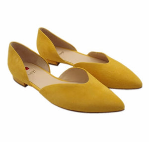 Flat Pointed Court Shoe