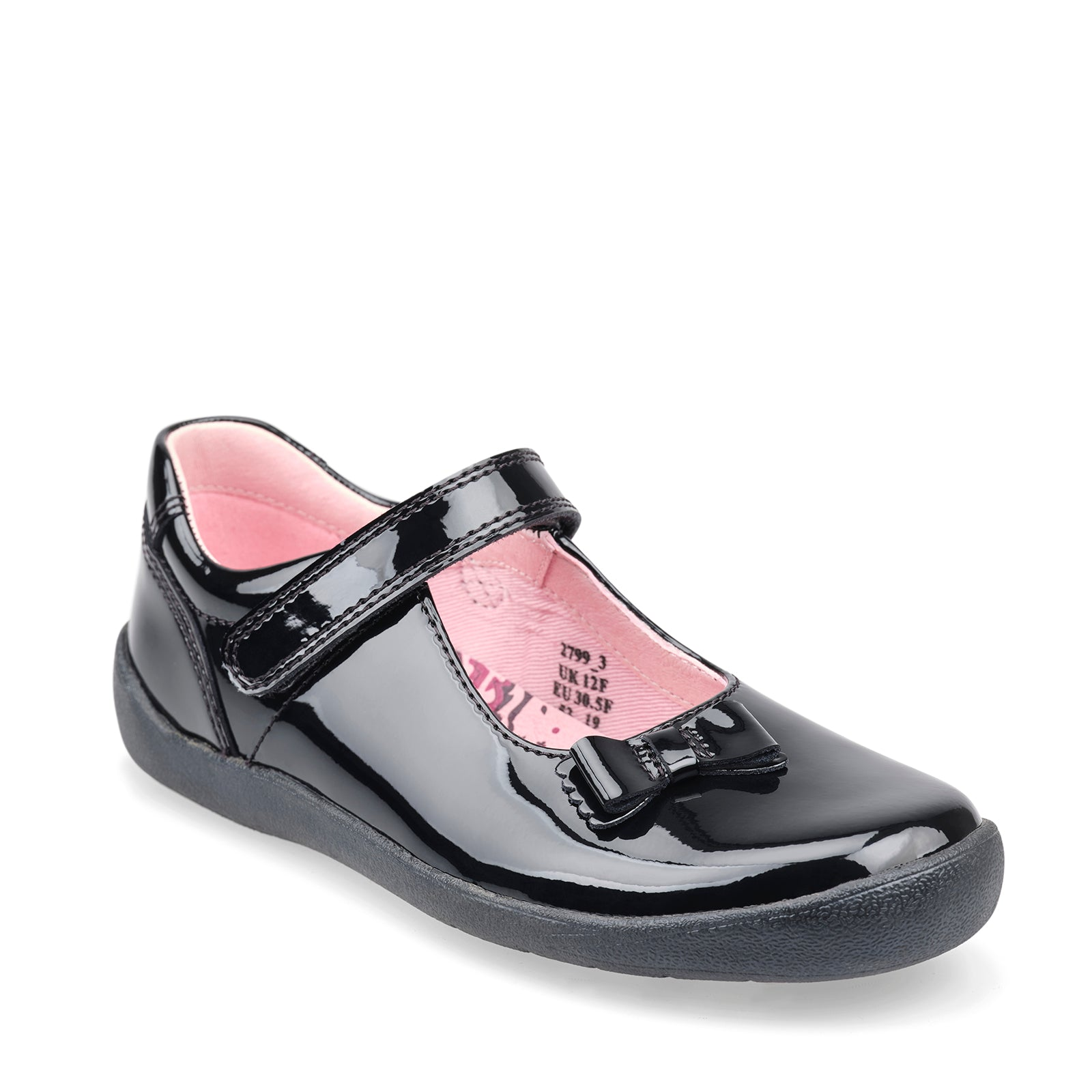 Giggle - Black Patent Leather