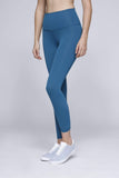 Hug Me Leggings in Rising Lotus Bottoms Blue Coral / XS Hug Me Leggings
