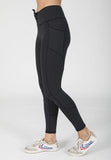 Lace Me Up Leggings in Rising Lotus Bottoms Lace Me Up Leggings