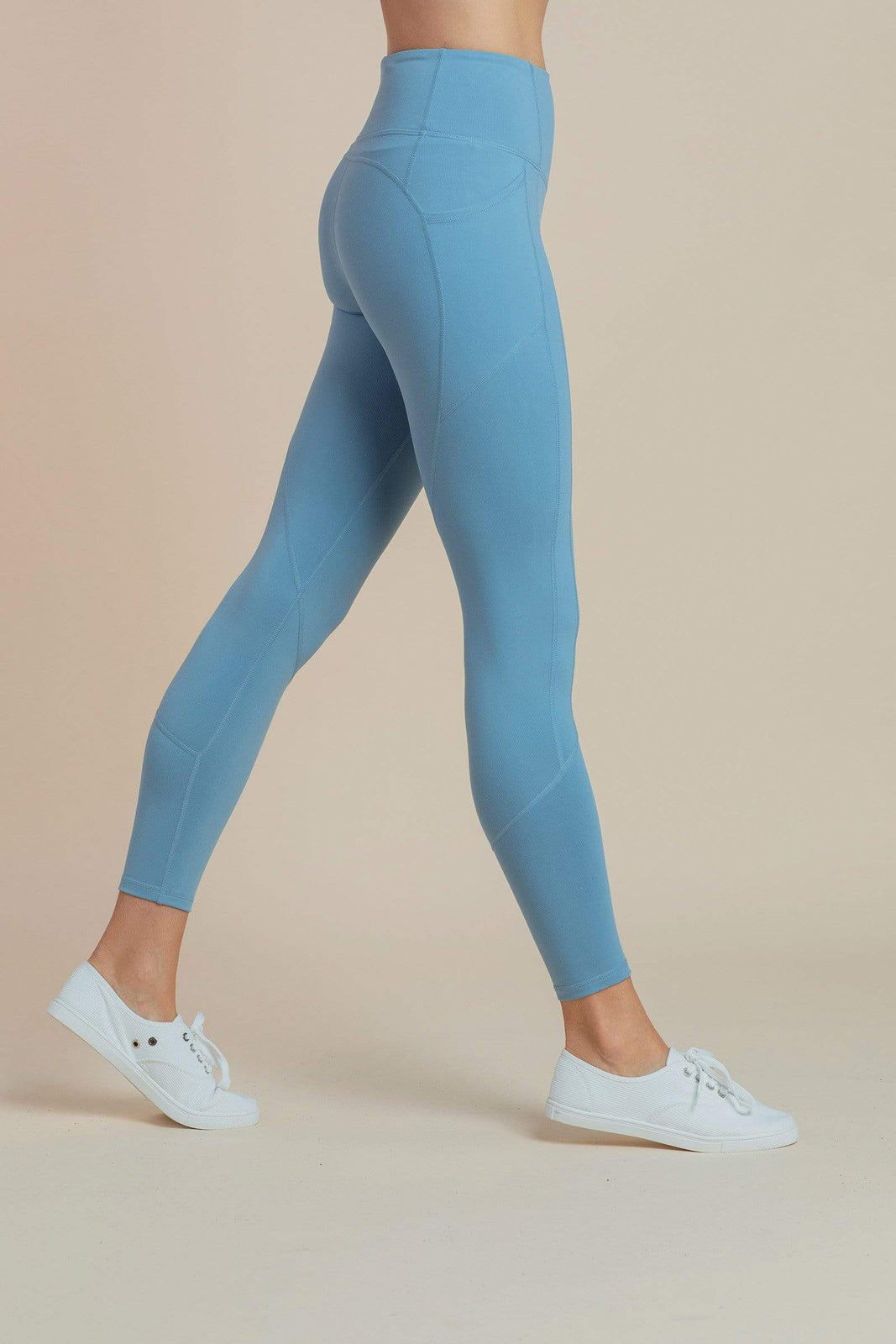 On-The-Go Leggings in Dusty Blue
