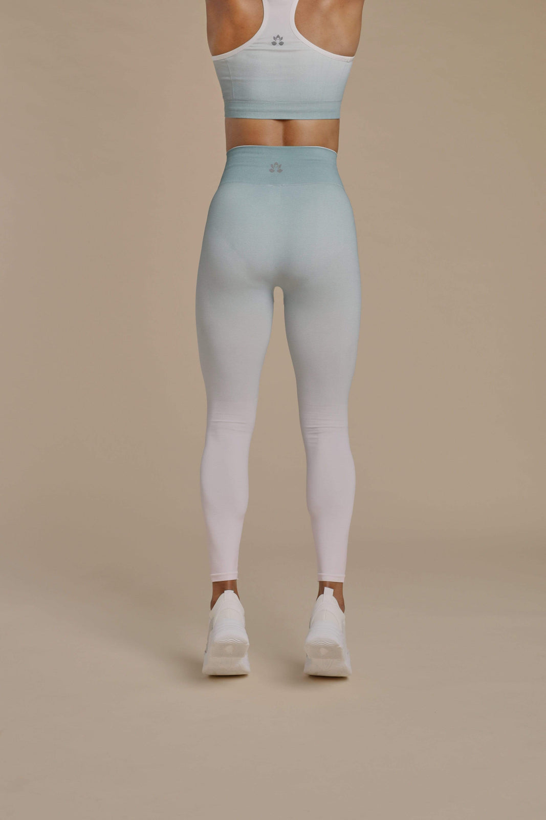 Seamless Ombré Leggings in Rising Lotus Bottoms Seamless Ombré Leggings