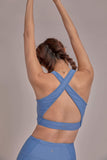 Triangle Bra in Cornflower