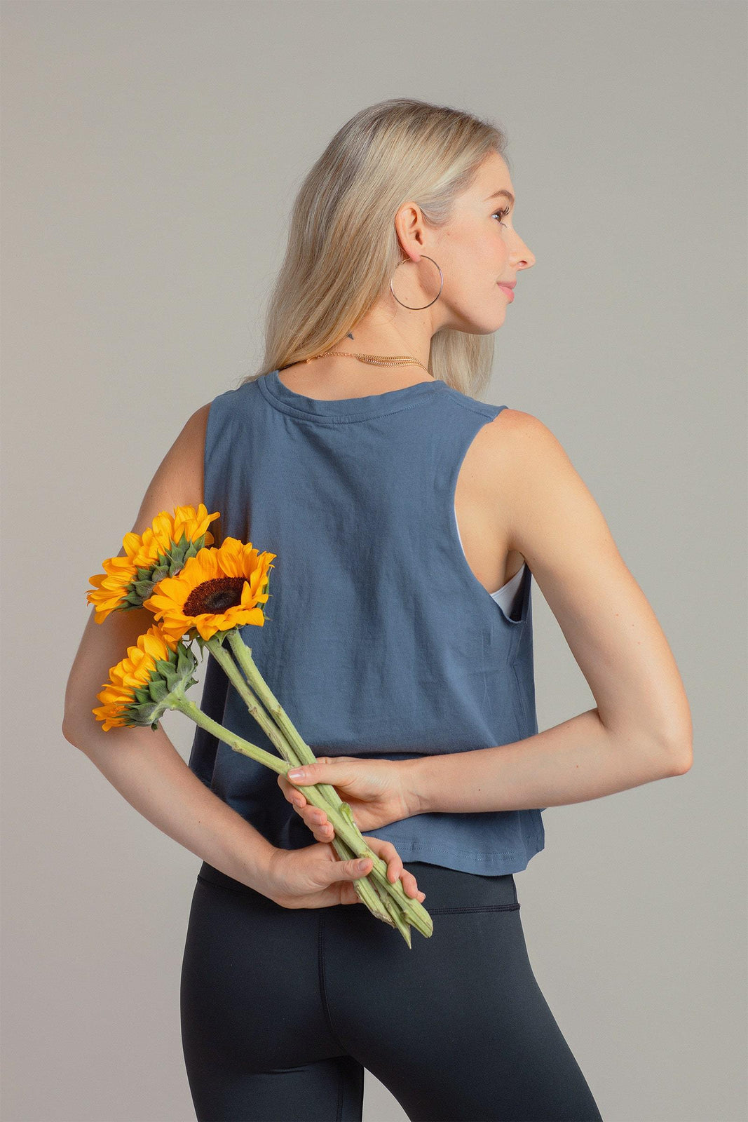 Essential Crop in Navy