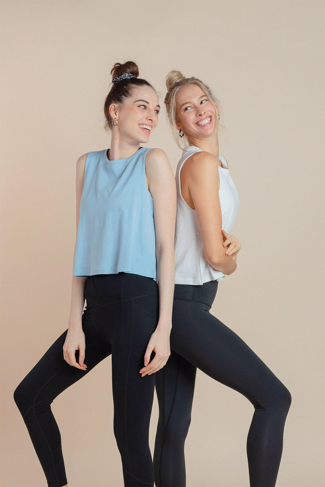 Essential Crop in Light Blue