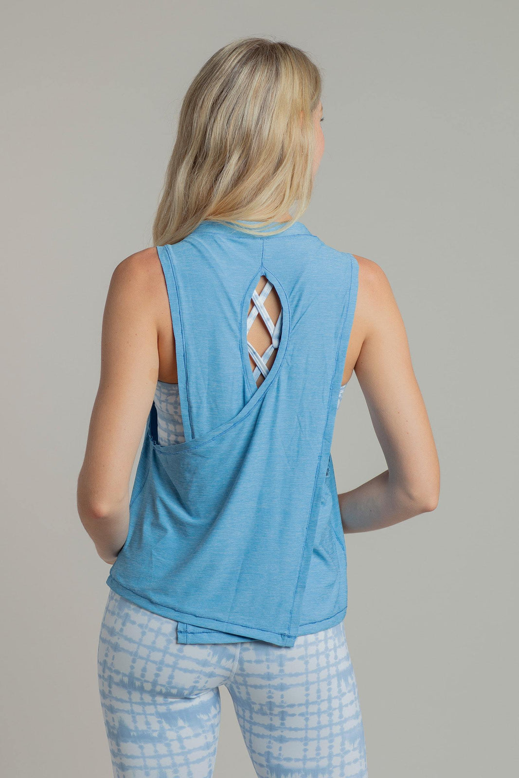 Wild Child Tank in Blue