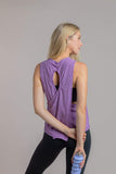 Wild Child Tank in Purple