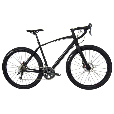 Tommaso Illimitate Disc - 40c black gravel bike