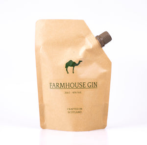 Farmhouse Gin: London Dry Gin 20cl pouch 41% ABV
