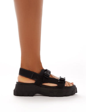 Undeniable Chunky Sports Sandals in