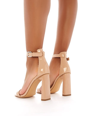 Roxy Barely There Heels in Nude