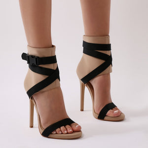 Blade Sports Luxe Heels in Nude and Black