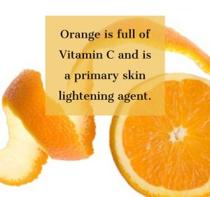 Orange Peel for Skin