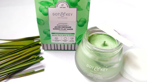 Green clay acne defence mask