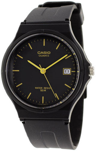 Casio MW-59-1E Classic Black Thin Analogue Watch