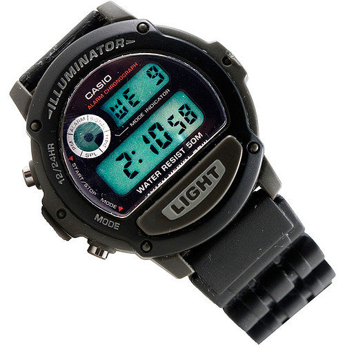 Casio Men's Multifunction Digital Sport Alarm 5 Year Battery Watch W-87H-1V Mint