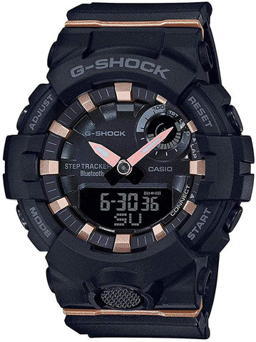 Casio GMA-B800-1A Women's G-Shock G-SQUAD Watch Bluetooth® Step-Tracker Training