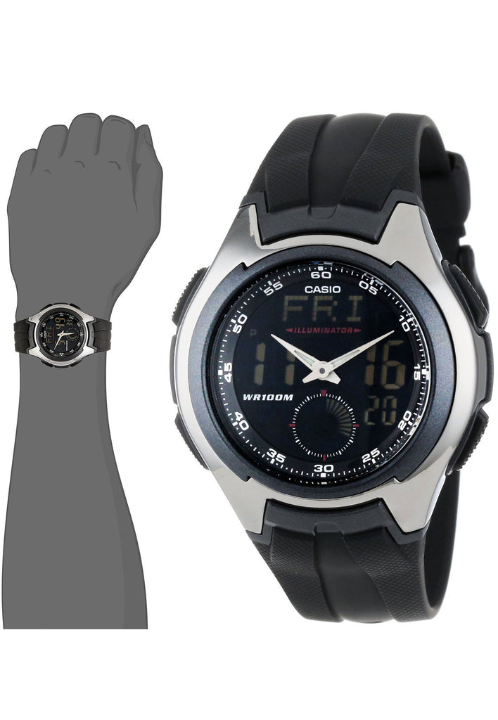 imgweide men watches sports lcd weide for