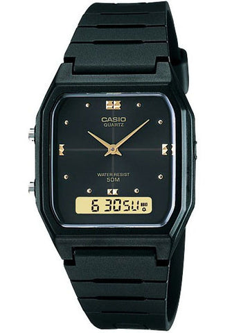 Casio AW-48HE-1AV Classic Analogue Digital 50m WR Watch
