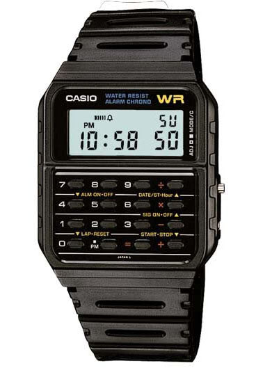 Casio CA-53W 1980s Calculator Watch