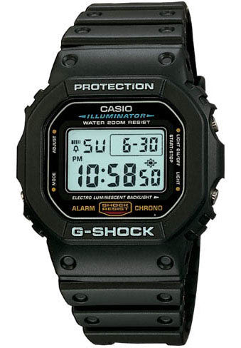 Casio DW-5600E-1V G SHOCK Multi Function Alarms Countdown Timer 200M WR