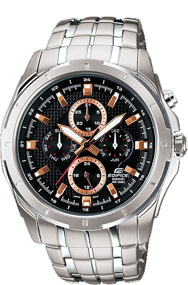 Casio EF328D-1A5V Edifice Mens 100M WR Stainless Steel Dress Watch