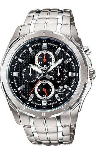 Casio EF328D-1AV Edifice Mens 100M WR Stainless Steel Dress Watch