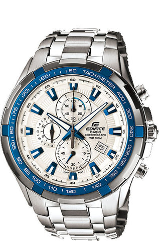 Casio Edifice EF-539D-7A2V Men's Stainless Steel 100M Chronograph Watch Tachymeter