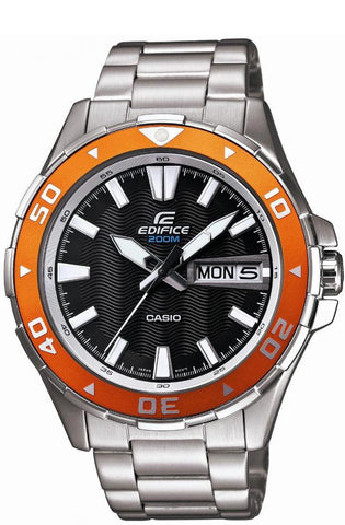 Casio EFM-100D-1A4 Edifice Mens 200M Divers Watch Sports