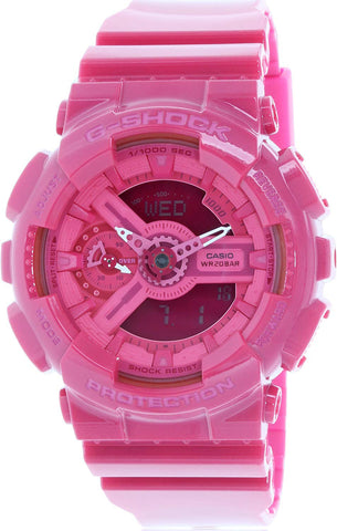 Casio GMA-S110CC-4A Women's Pink G-SHOCK Hyper Colors Ana-Digital Watch 200M New