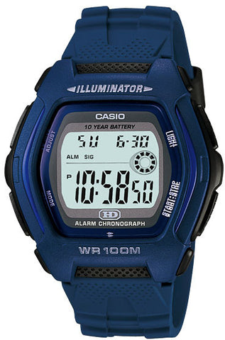 Casio HDD-600C-2AV Mens 100M Digital Sports Watch Alarm Chronograph 10 YEAR BATTERY