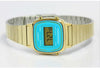 Casio LA-670WGA-2 Ladies Gold Stainless Steel Digital Classic Vintage Casual Watch
