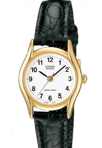 Casio LTP-1094Q-7B1 Ladies Analogue Leather Band Watch