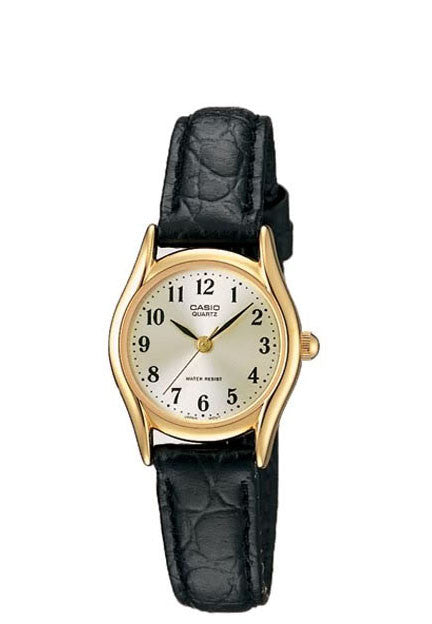Casio LTP-1094Q-7B2 Ladies Analogue Leather Band Watch