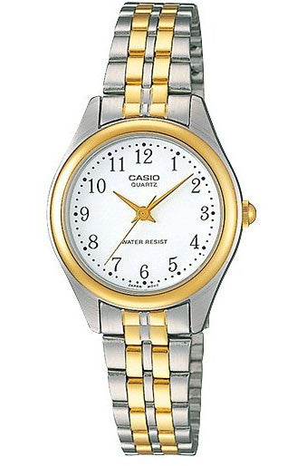 Casio LTP-1129G-7B Ladies Stainless Steel Casual Dress Watch