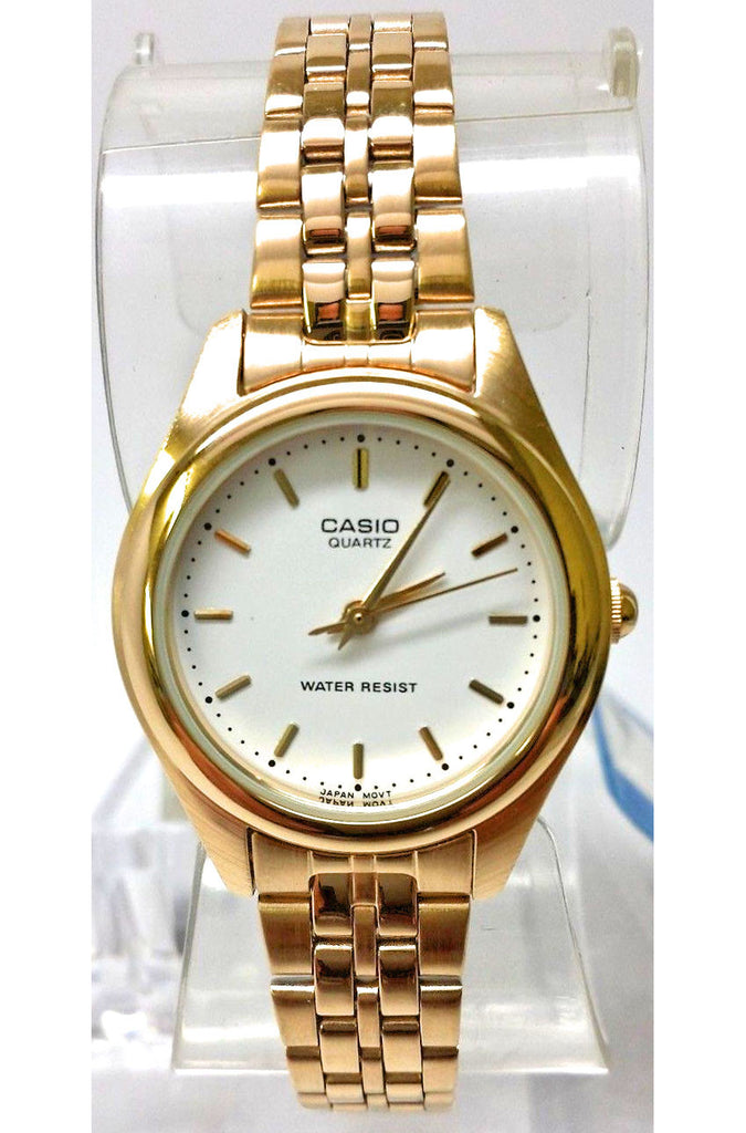 Casio LTP-1129N-7A Ladies Gold Tone Stainless Steel Watch