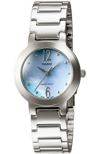 Casio LTP-1191A-2A Ladies Stainless Steel Dress Watch