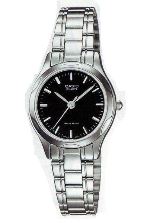 Casio LTP-1275D-1A2 Ladies Stainless Steel Analogue Dress Watch