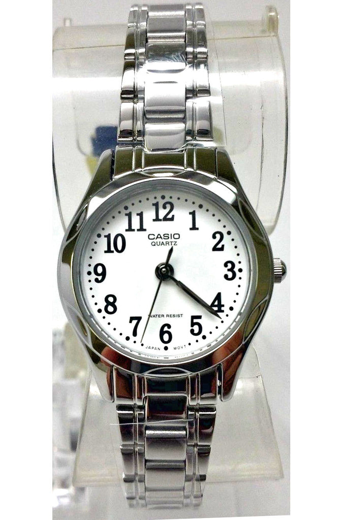 Casio LTP-1275D-7BD Ladies Stainless Steel Analogue Dress Watch