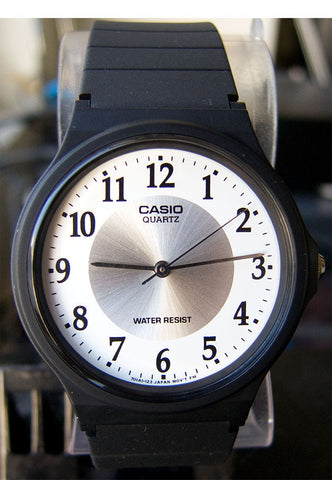 Casio MQ-24-7B3 Classic White Thin Analogue Watch