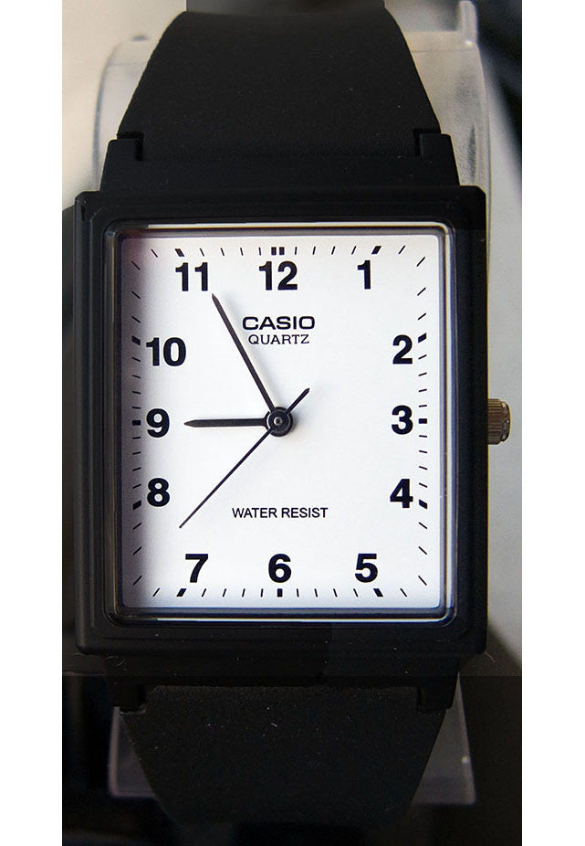 Casio MQ-27-7B Classic Square White Analogue Watch