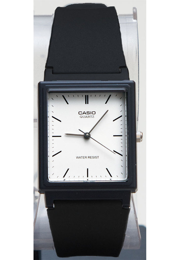 Casio Mq 27 7e Classic Square White Analogue Watch Great Watches