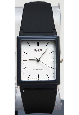 Casio MQ-27-7E Classic Square White Analogue Watch